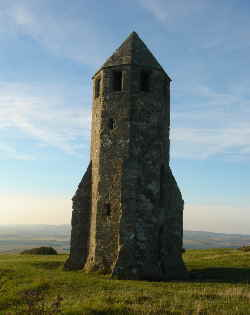 "The ""Pepperpot"" on St Catherine's Down, Isle of Wight"
